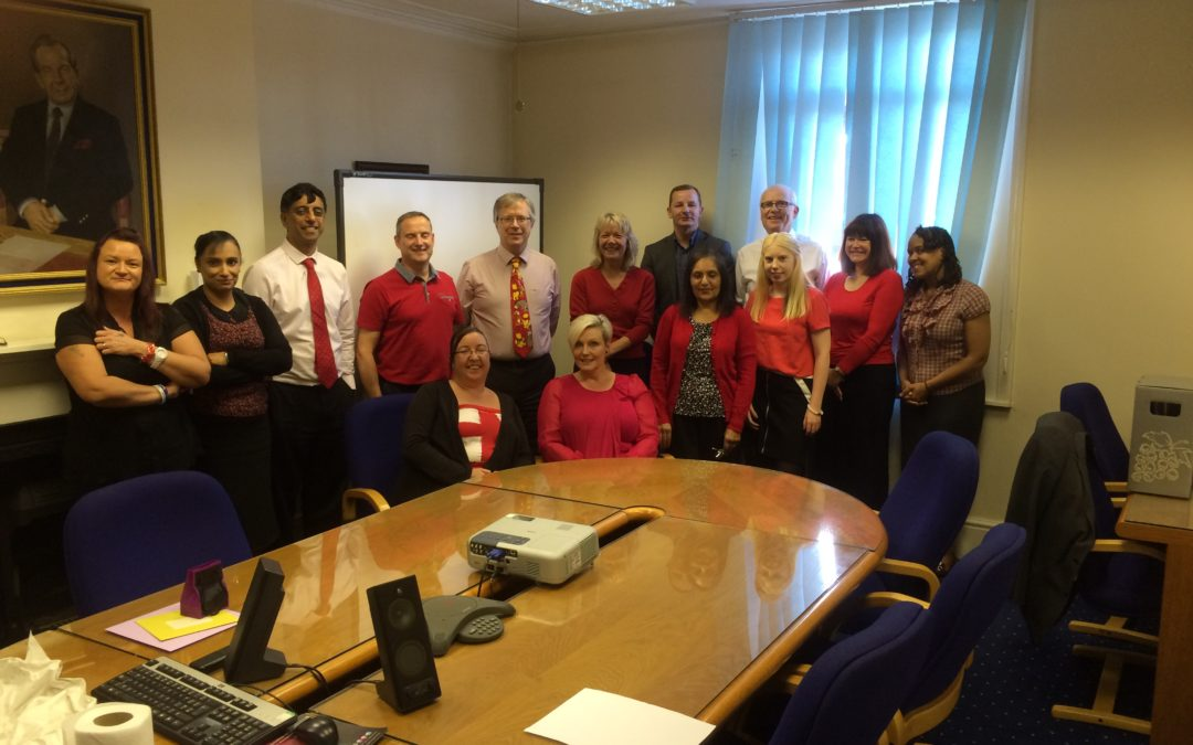 "Silks ""Wore It Red"" for Cure Leukaemia"