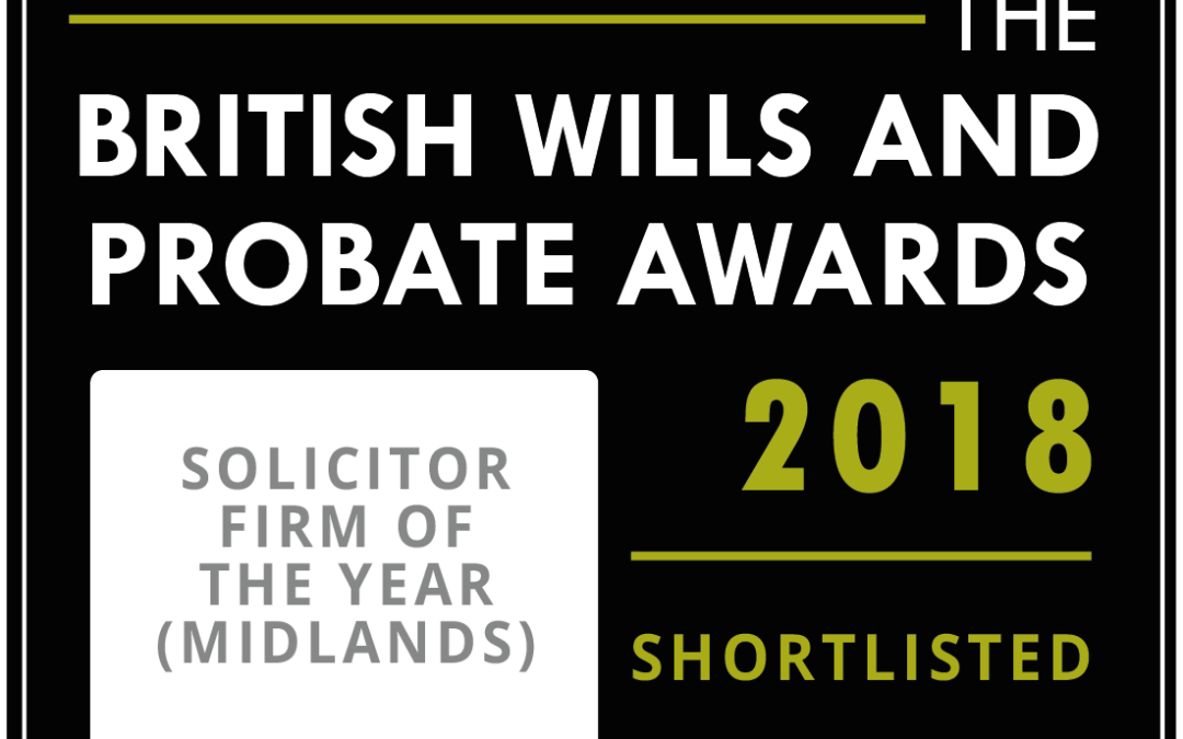 Silks Short-Listed for the British Wills and Probate Awards
