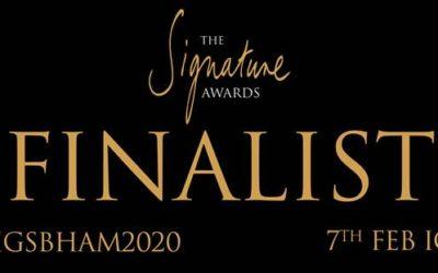 Silks Made Finalists in Signature Awards Birmingham